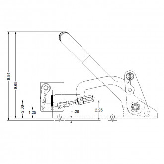 Mechanical Delta 1 Compact Operator (grease fitting in shaft)