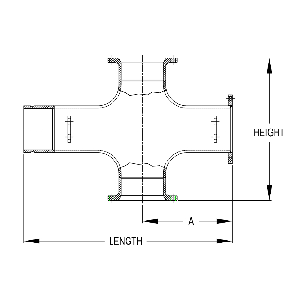 Connection 3 to Centerline