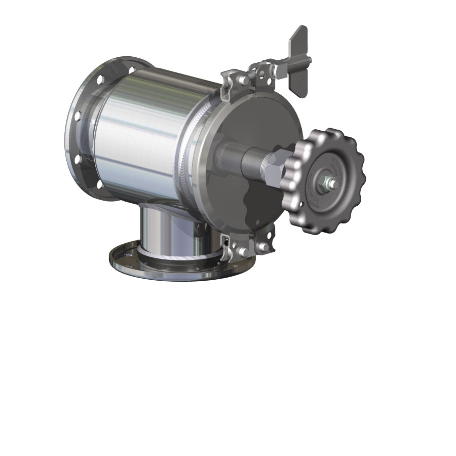 """3"""" Q.R.B. Hydrolet Valve - Straight Outlet - Flanged"""