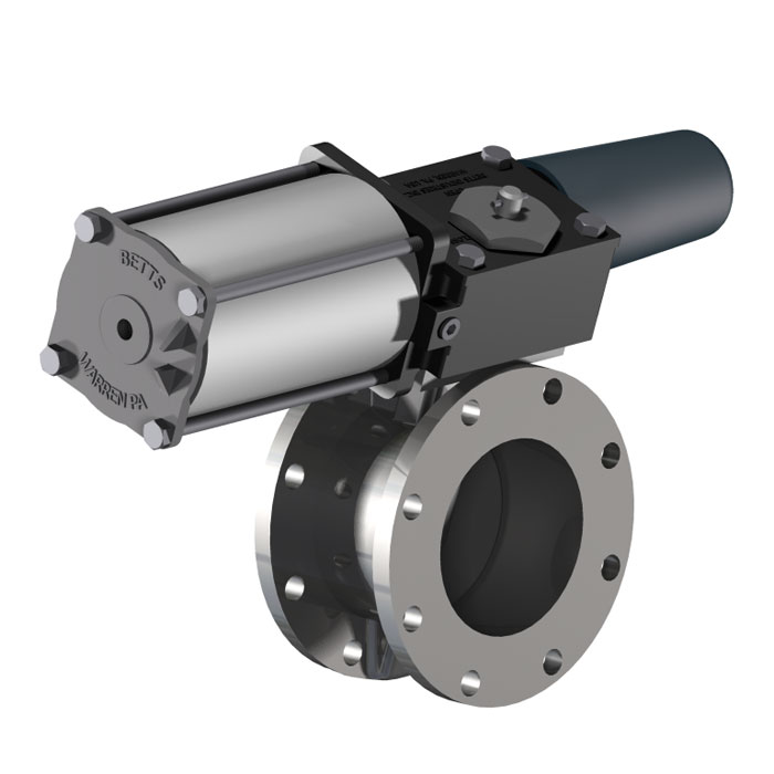 Ecliptic Valve Air Operated